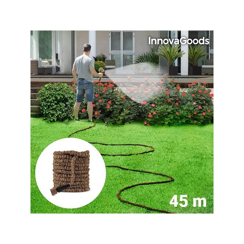 InnovaGoods Dehnbarer Gartenschlauch 45 m