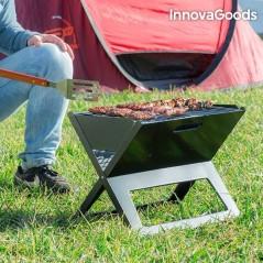 InnovaGoods Tragbarer und Zusammenklappbarer Kohlegrill