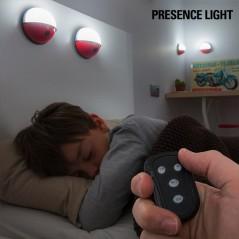 Pockelamp Tragbare LED-Leuchten mit Fernbedienung (4 St.)