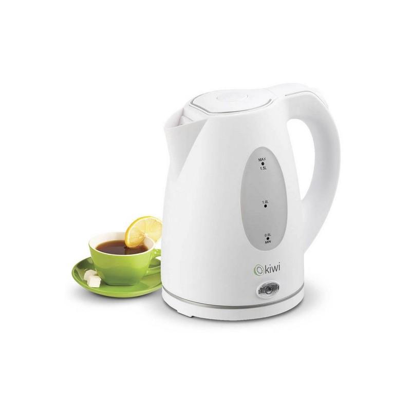 Wasserkocher Kiwi KK-3307 1,5 L 2000W Weiß