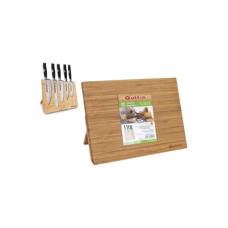 Magnetischer Messerhalter Quttin Bambus (34 X 25 x 1,7 cm)