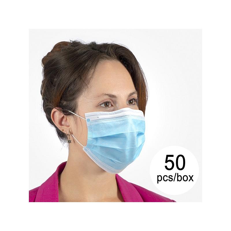 Chirurgische Maske (3-lagig) ST (50Er pack)