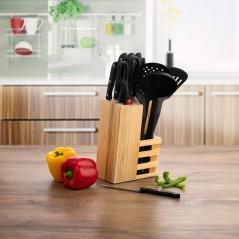 Küchenmesserset und Halterung Quid Anayet (12 pcs)