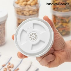 InnovaGoods Hermetische Anpassbare Plastikbehälter (3er Pack)