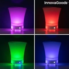 LED-Eiskübel mit wiederaufladbarem Lautsprecher Sonice
