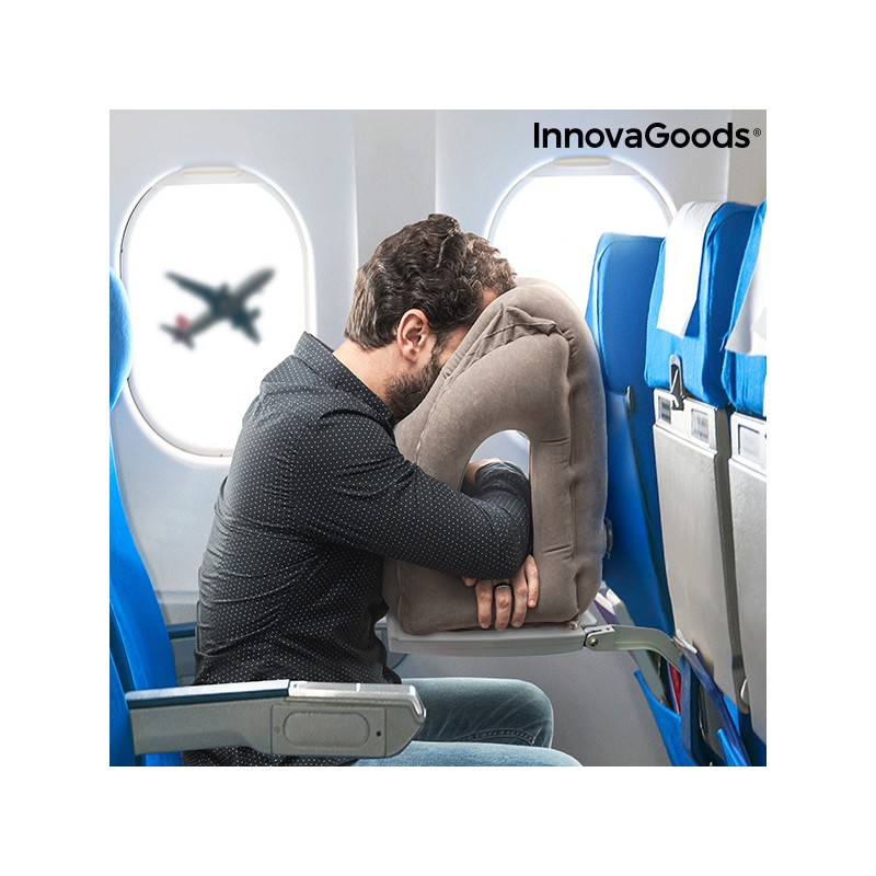 Aufblasbares Kopfkissen Snoozy InnovaGoods