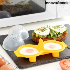 Doppelter Eierkocher aus Silikon Oovi InnovaGoods