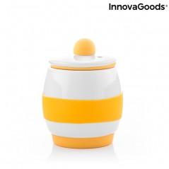 Keramischer Mikrowellen-Eierkocher mit Rezepten Eggsira