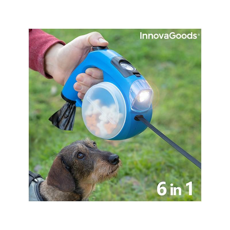 Einziehbare Hundeleine 6 in 1 Compet InnovaGoods