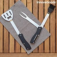 5 in 1 Grillwerkzeug-Set Bbkit InnovaGoods