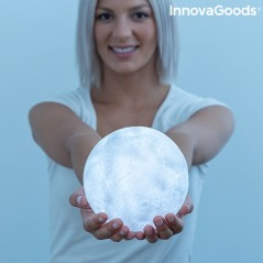 Wiederaufladbare LED Lampe Mond Moondy InnovaGoods