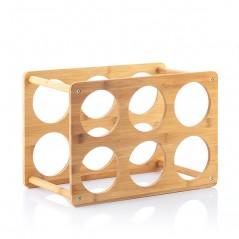 Flaschenregal Bamboo (6 Flaschen)