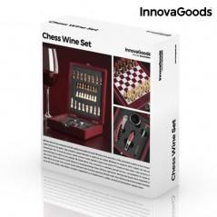 InnovaGoods Weinzubehörset mit Schachspiel (37 Stück)