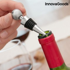 InnovaGoods Screwpull Hebelkorkenzieher- und Weinzubehörset (4