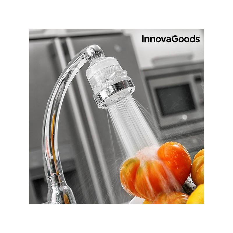 InnovaGoods Umweltfreundlicher Wasserhahnfilter mit