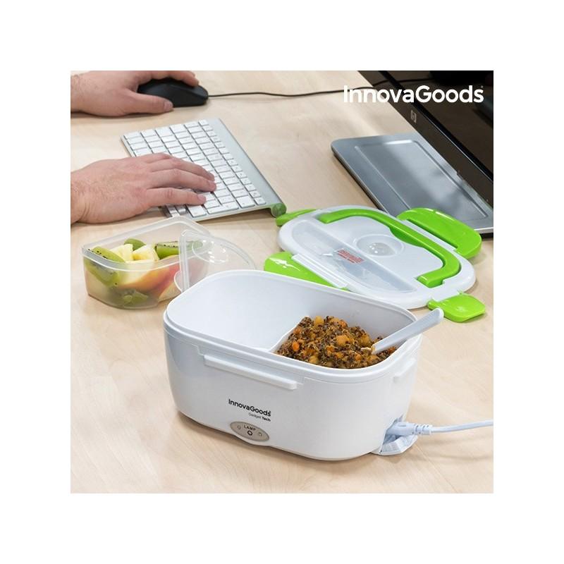 InnovaGoods Elektrische Lunchbox 40W Weiß Grün