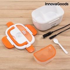 InnovaGoods 40W 12 V Elektrische Lunchbox für Autos Weiß Orange