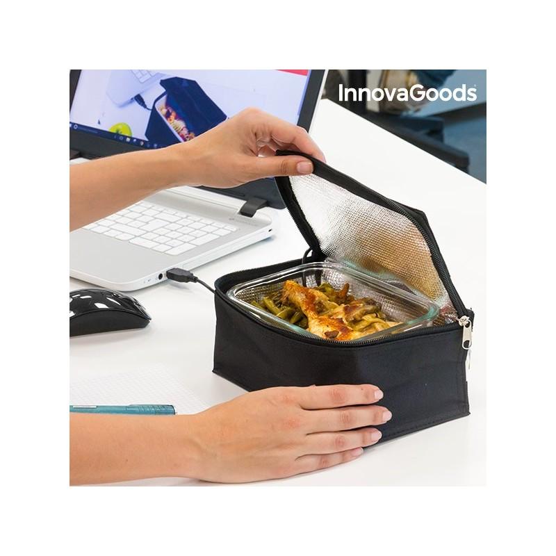 InnovaGoods USB Kühltasche für Frischhaltedosen