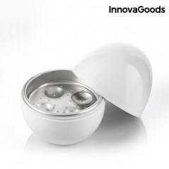 InnovaGoods Boilegg Eierkocher für die Mikrowelle mit Rezepten