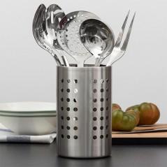 Küchenutensilien-Set aus Edelstahl