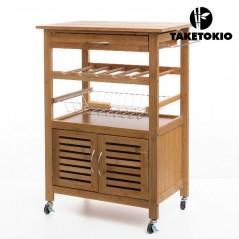 TakeTokio Bambus Küchenwagen