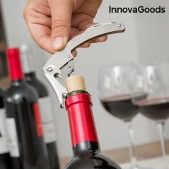 InnovaGoods Wein Zubehörset in Flaschenoptik (5-teilig)