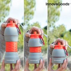 InnovaGoods Faltbare Trinkflasche aus Silikon