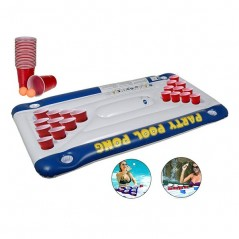 Pool Pong Game Luftmatratze