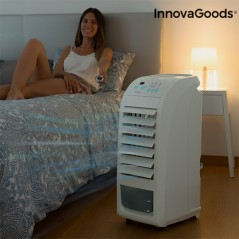 InnovaGoods Tragbarer Verdampfungskühler 4,5 L 70 W Grau