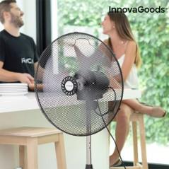 InnovaGoods Industrieller Standventilator Ø 45 cm 75W Schwarz