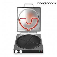 InnovaGoods Elektrischer Pizzaofen mit Presto Rezeptbuch! 1200W
