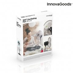 InnovaGoods Standventilator mit 360º Drehfunktion Ø 30 cm 60W