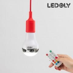Ledoly C2000 mehrfarbige Bluetooth-LED-Birne mit Lautsprecher