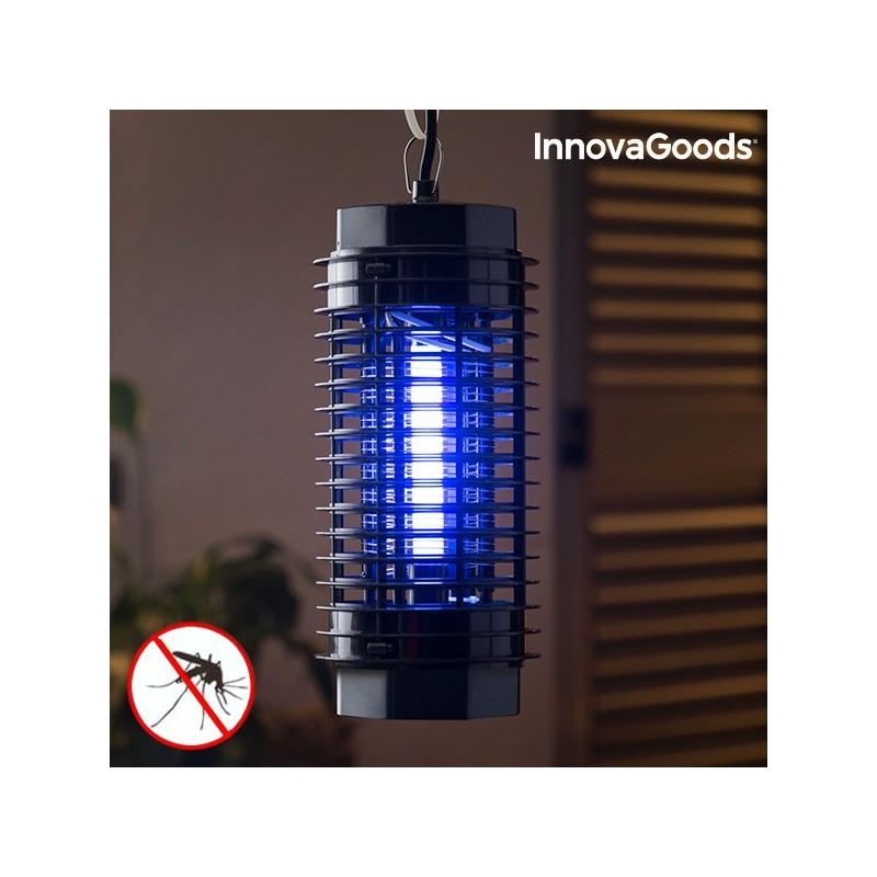 InnovaGoods KL-1500 4W Mückenvernichtungslampe Schwarz