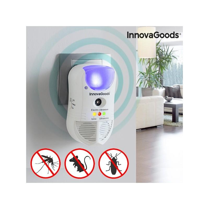 InnovaGoods 5 en 1 Schädlingsvertreiber mit LED und Sensor
