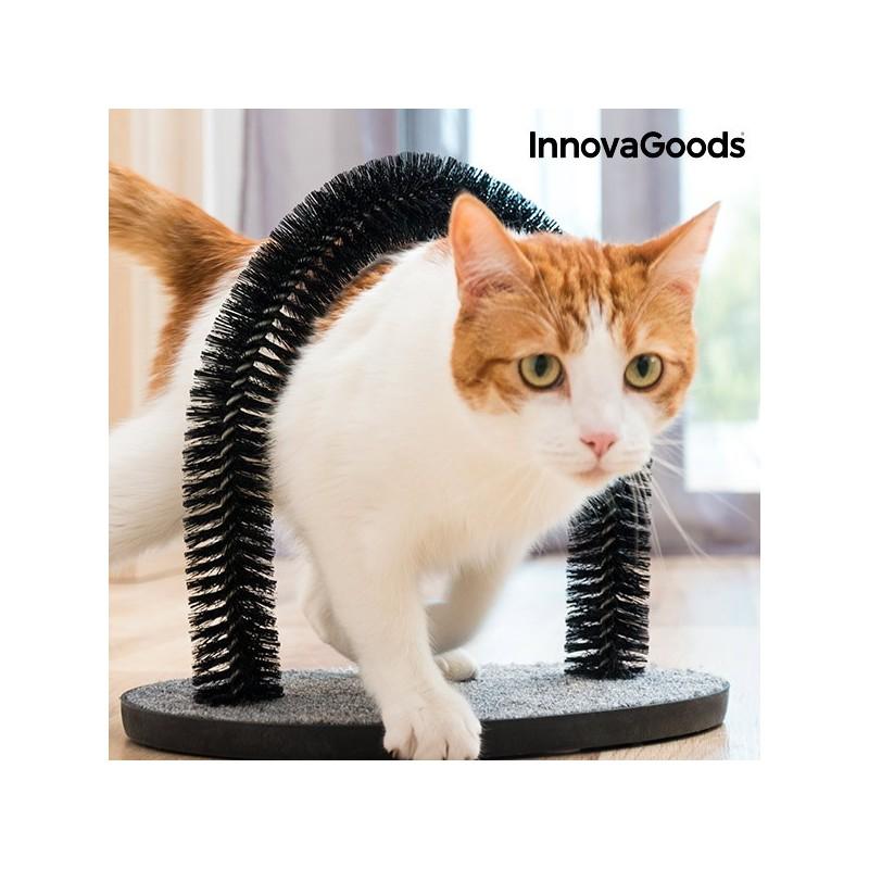 InnovaGoods Massage und Fellpflegebogen für Katzen