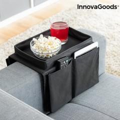 Ablage für das Sofa mit Fächern für Fernbedienungen InnovaGoods