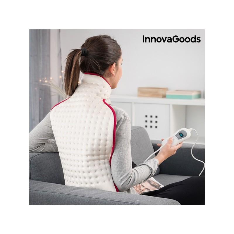 InnovaGoods Elektrisches Kissen für Rücken und Nacken 42 x 63