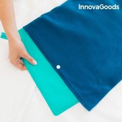 InnovaGoods Elektrisches Kissen 40 x 32 cm 60W Blau