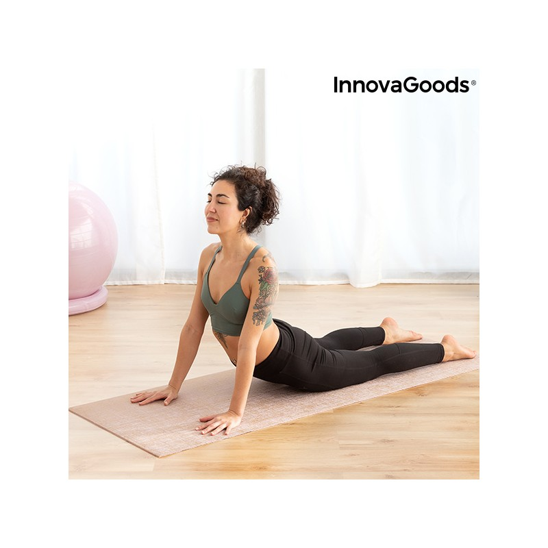 Jute-Yoga-Matte Jumat InnovaGoods