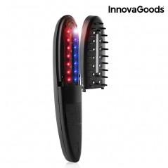 InnovaGoods Elektrischer Haarwuchsfördernder Kamm mit Zubehör