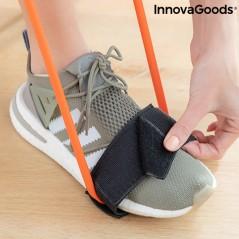 Gürtel mit Widerstandsbändern für die Gesäßmuskulatur mit