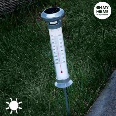 Oh My Home Thermometer Solarlampe